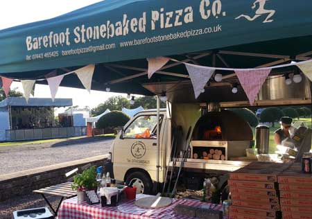 Barefoot Stonebaked Pizza Company .. enjoy a delicious hot snack