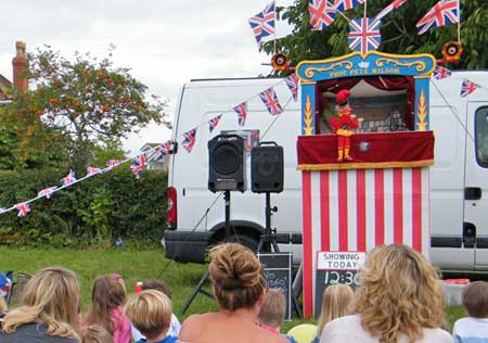 Traditional Punch and Judy theatre